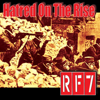 Hatred On The Rise cover art