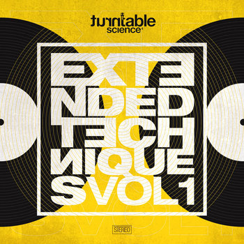 Extended Techniques* vol 01 cover art