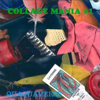 Collage Mania #1 cover art