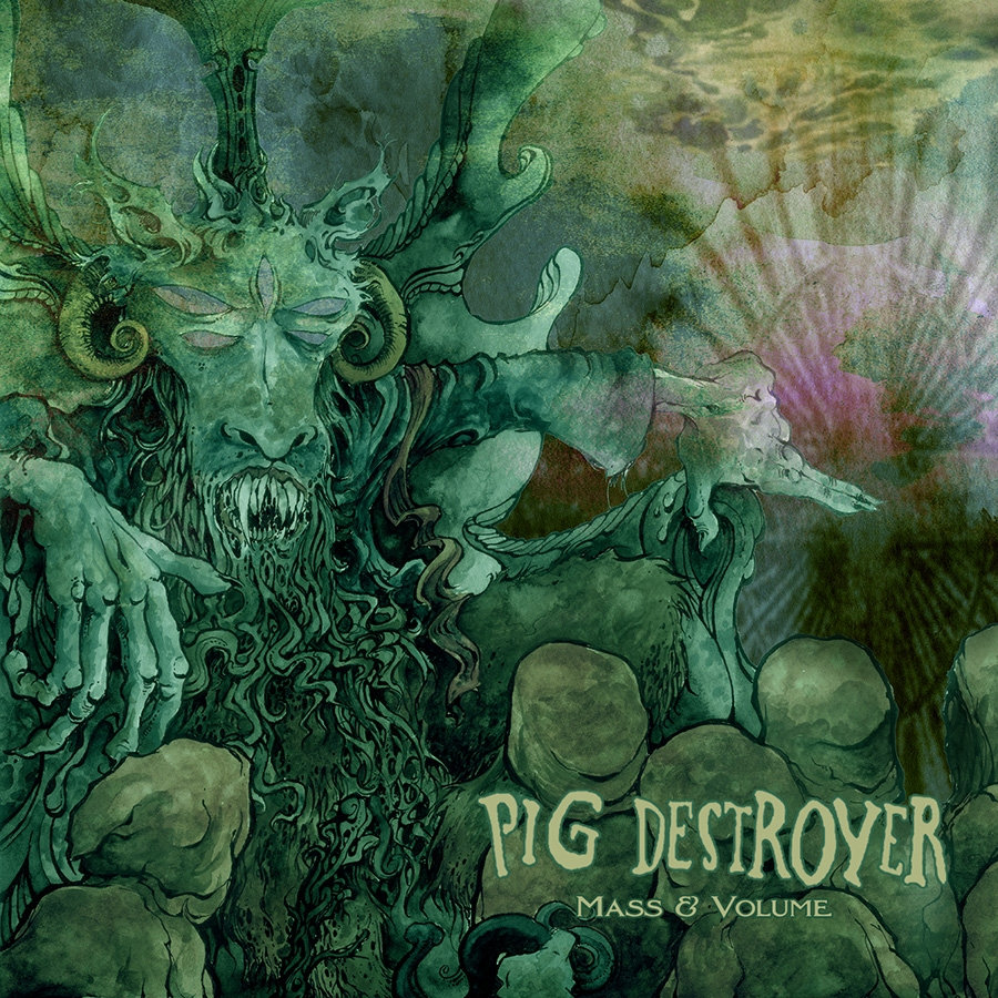 Pig Destroyer - Mass & Volume (EP 2013)