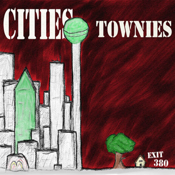 Cities Townies EP cover art