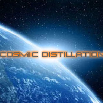 eVo & KPow - Cosmic Distillation cover art