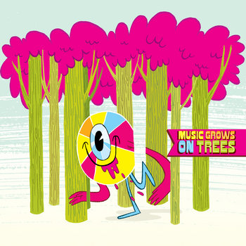 VARIOUS ARTISTS - Music Grows On Trees cover art