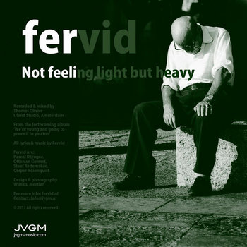 Not feeling light but heavy cover art