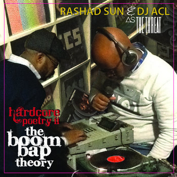 hardcore poetry ii: The Boom Bap Theory Vol. I cover art