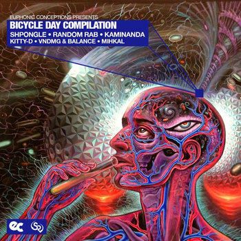 Bicycle Day Compilation cover art