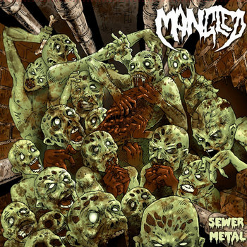 "Sewer Metal 7"" cover art"