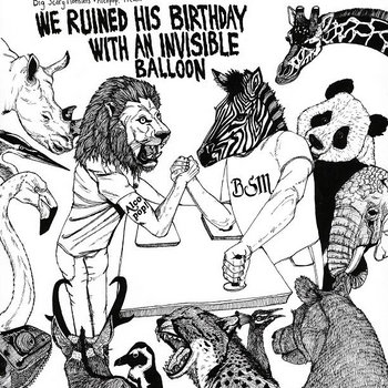 V/A - We Ruined His Birthday With An Invisible Balloon (BSM vs Alcopop) cover art