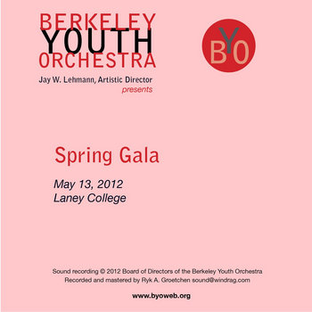 Spring Gala: BYO May 13, 2012 cover art