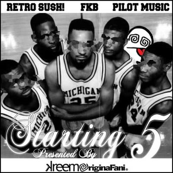 TheStartingFive LP cover art