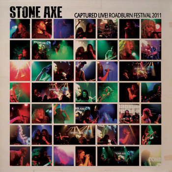 Stone Axe: Captured Live! Roadburn Festival 2011 cover art