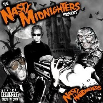 The Nasty Midnighters - Nasty Halloweeners cover art