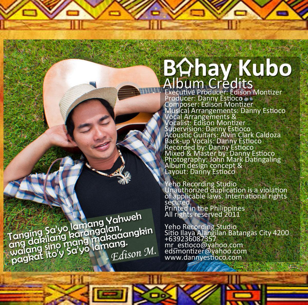 Bahay Kubo Song Lyrics