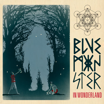 Blue Monster in Wonderland cover art