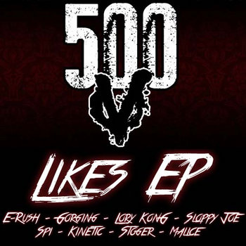 Villainz 500 Likes EP cover art