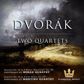 Dvorak - Two Quartets cover art