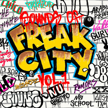 Sounds of Freak City Vol.1 cover art