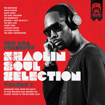 The RZA presents Shaolin Soul Selection: Volume 1 cover art
