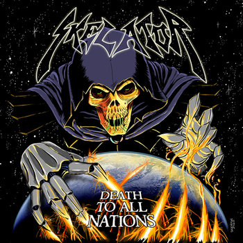 SKELATOR &quot;Death To All Nations&quot; cover art