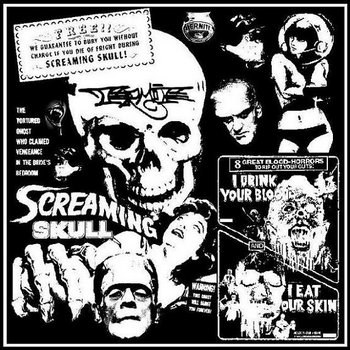 THE SCREAMING SKULL ep cover art
