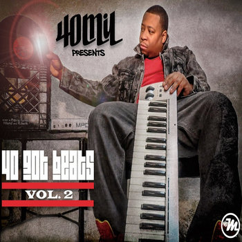 40 GOT BEATS VOL.2 cover art