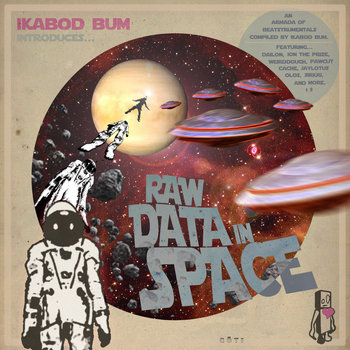 RAW DATA in SPACE cover art