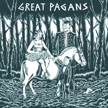 Great Pagans EP cover art