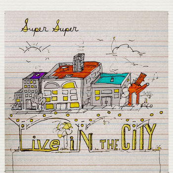 "Live in the City 7"" cover art"