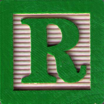 "Alphabet Soup Series: Volume ""R"" cover art"