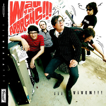 "WAU LOS ARRRGHS!!! ""Viven!!!"" LP cover art"