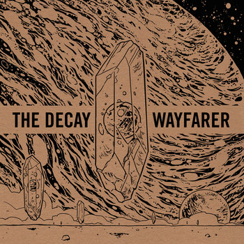 Wayfarer/The Decay Split LP cover art