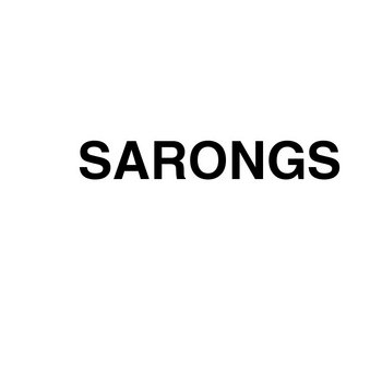 "Sarongs (12"" LP) cover art"