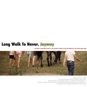 Long Walk To Never EP cover art