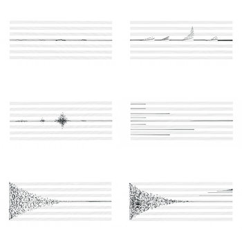 six graphic scores cover art