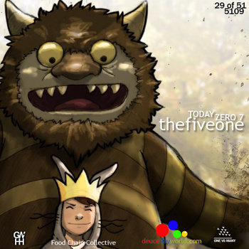 The Five One - &quot;5109: The Remix Album&quot; cover art