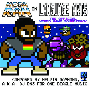 Mega Ran In Language Arts - The Official Video Game Soundtrack cover art