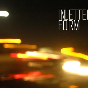 In Letter Form EP cover art