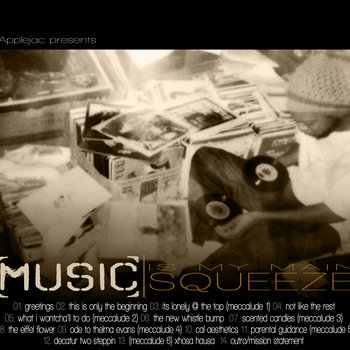 Music Is My Main Squeeze cover art