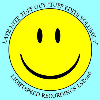 "Late Nite Tuff Guy ""Tuff Edits Volume Two"" cover art"