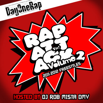Rap Attack vol.2 cover art
