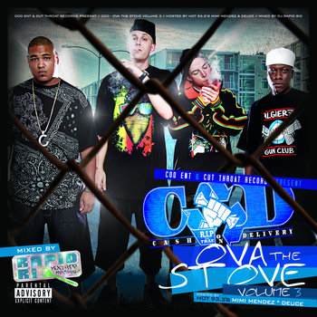 Ova the Stove vol.3 cover art