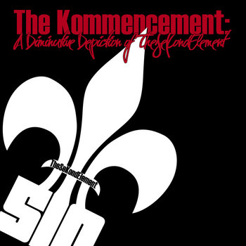 The Kommencement LP cover art