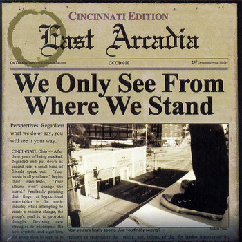 We Only See From Where We Stand cover art