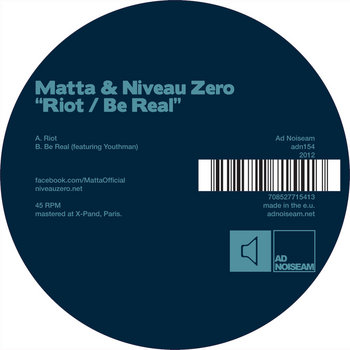 Riot / Be Real cover art