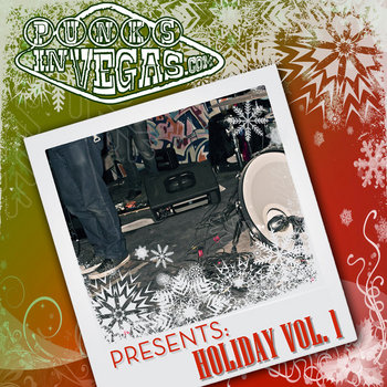 Punks in Vegas Holiday vol. 1 cover art