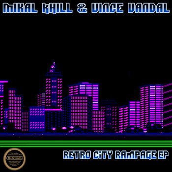 The Retro City Rampage EP cover art
