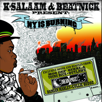Beatnick &amp; K-Salaam Present - NY Is Burning cover art