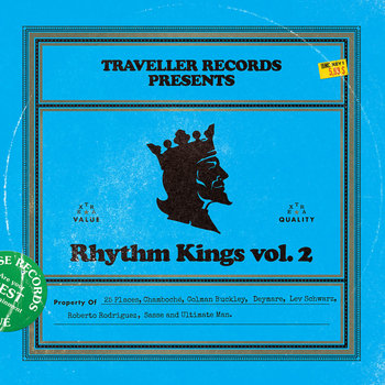 Rhythm Kings vol.2 2LP cover art