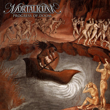 MORTALICUM &quot;Progress Of Doom&quot; cover art