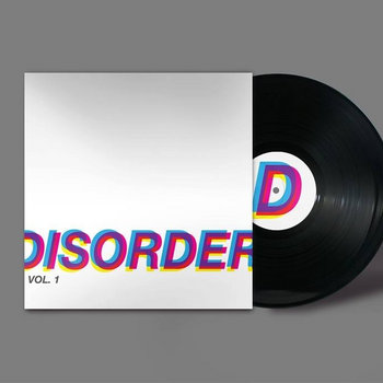 "DISORDER (12"" split w/ Eleven Pond) cover art"